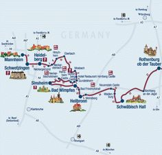 See Castles in Germany on the Scenic Castle Road