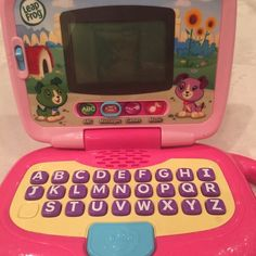 Leap Frog My Own Leaptop- pink Pink - LeapFrog My Own Leaptop- excellent condition Leapfrog Other