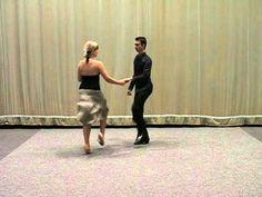 Základní taneční - Rock n roll.mpg - YouTube