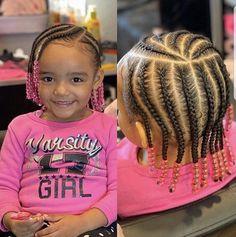 Toddler Braid Styles, Little Girl Braid Styles, Toddler Braids, Little Girl Braids, Braids For Kids, Braid Styles For Kids, Little Girls Natural Hairstyles, Little Girl Braid Hairstyles, Toddler Braided Hairstyles