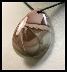 Designer Teardrop  Willow Creek Jasper Focal Bead