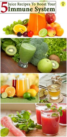 5 Effective Juice Recipes To Boost Your Immune System : A healthy body leads to a healthy life. This is not a mere phrase but a truth we should all embrace and understand.ou can choose the one that works for your palate!