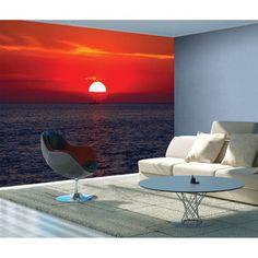 Veľkoformátová tapeta Sunset, 315 x 232 cm Sunset, Profile, Sunsets