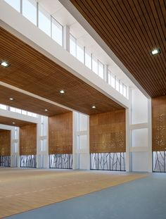 of Dunalastair School Gymnasium / Alejandro Dumay + Patricio Schmidt - 5 Gallery of Dunalastair School Gymnasium / Patricio Schmidt + Alejandro Dumay - 5 Flur Design, Hall Design, Gym Design, Facade Design, School Design, House Design, Gymnasium Architecture, Education Architecture, School Architecture