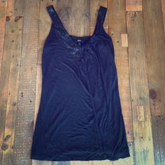 """Selling this """"Black Sequin Tank Top"""" in my Poshmark closet! My username is: mbandino. #shopmycloset #poshmark #fashion #shopping #style #forsale #Mossimo #Tops"""