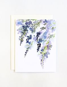 This greeting card comes with a blank interior with a white envelope, also available in a box of 8. Also available as an art print: Mix & Match!