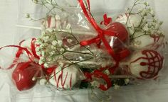 Cake Pop and Strawberry Bouquet