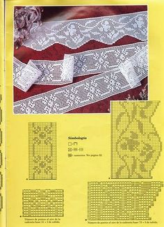 Lace Edging Archives - Beautiful Crochet Patterns and Knitting Patterns Crochet Dollies, Crochet Towel, Crochet Lace Edging, Crochet Borders, Love Crochet, Irish Crochet, Beautiful Crochet, Crochet Cushion Cover, Crochet Cushions