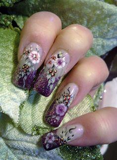 Purple+French+by+fancynail84+-+Nail+Art+Gallery+nailartgallery.nailsmag.com+by+Nails+Magazine+www.nailsmag.com+#nailart By TINA