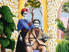 imagenes de frida kahlo en calavera - Google Search