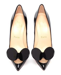 Christian Louboutin Madame Mouse pumps,the first pair of red bottoms i fell in love with Christian Louboutin Outlet, Crazy Shoes, Me Too Shoes, Dream Shoes, Zalando Shoes, How To Have Style, Zapatos Shoes, Shoes Heels, Patent Leather Pumps