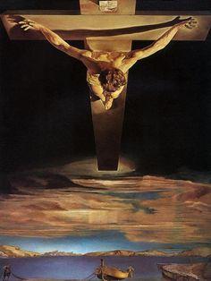 Cristo de San Juan de la Cruz, Salvador Dali