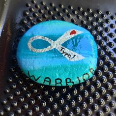 Type 1 diabetes awareness rock! $20 + shipping and handling Painted Rocks For Sale, Hand Painted Rocks, Diabetes Awareness, Type 1 Diabetes, Bmw Logo, Art, Art Background, Kunst, Performing Arts