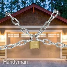 Garage doors are often the weak link in your home's security. Use these tips to burglar-proof your garage door and keep your home safer.