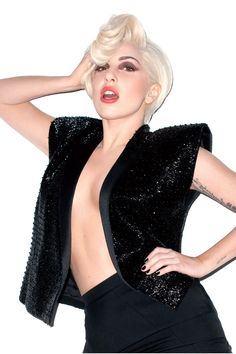 Lady Gaga - Harper's Bazaar March Issue shot by Terry Richardson