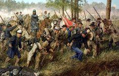 1863 05 01 Chancellorsville, Press forward men! - Bradley Schmehl