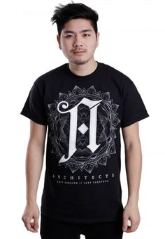 9051b7e5167 Order Architects - Lost Forever - T-Shirt by Architects for at the  Impericon UK online shop in great quality.