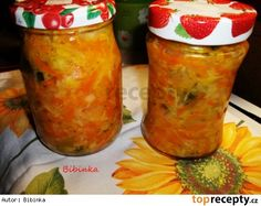 Zelenina do polévky Korn, Preserves, Pickles, Smoothie, Salsa, Food And Drink, Stuffed Peppers, Vegetables, Ethnic Recipes