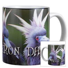Bad Heron Day Mug