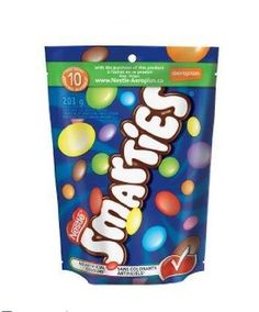 WAY better than m!!  Nestle Smarties 203 Gram Bag - Imported from Canada: Amazon.com: Grocery & Gourmet Food