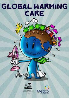 global warming posters ile ilgili görsel sonucu