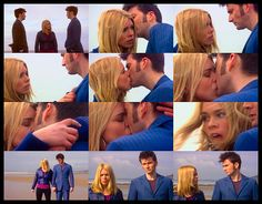 Doctor Who ... Rose/Ten ... he left her on the beach, in another dimension, with a human version of himself. It's ok to cry