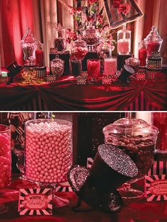 Moulin Rouge Theme Party (Quinceañera) // Hostess with the Mostess®