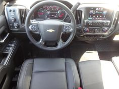 2015 Chevrolet Silverado 2500HD LT interior.