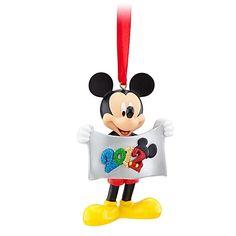 2012 Walt Disney World Mickey Mouse Figurine Ornament