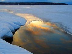 Morning sky reflection, Finland Kalevi Elmala