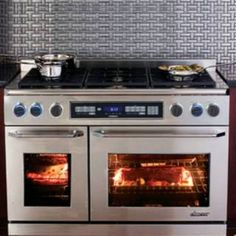 "Check out the Dacor ER48DSCH 48"" New Epicure Dual Fuel Range priced at $10,499.00 at Homeclick.com."