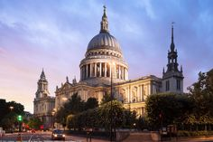 https://flic.kr/p/DFx9SA   St Paul's Cathedral, Sunset, London, England