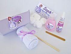 Lembrancinha Kit Manicure Princesa Sofia