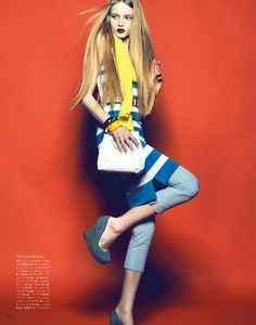 Photographies de Henrique Gendre pour Vogue Japon mai 2012