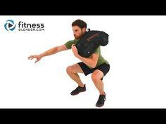 Advanced Sandbag Workout - Total Body Sandbag Training Burnout   Fitness Blender