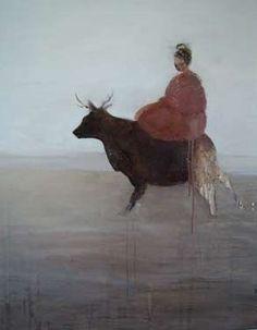 the crossing by Kristin Vestgard - artist - Cornwall