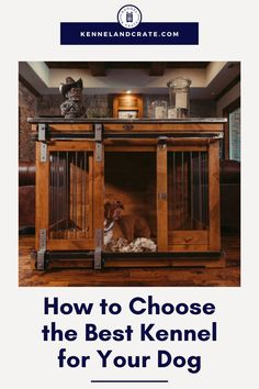 Kennel & Crate will provide you with beautiful wooden dog kennels. Read on and find out why you should choose us whenever you need a secured house for your dog. Our designer dog kennels will amaze! House Air Conditioner, Dog Kennel Designs, Wooden Dog Kennels, Dog Playground, Cool Dog Houses, Pumpkin Dog Treats, Dog Furniture, Best Dog Breeds, Dog Crate