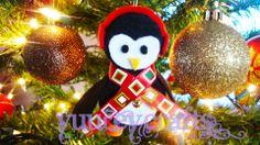 DIY | Christmas Ornaments / Adornos Navideños | Snowmen / Muñecos de Nieve | Penguins / Pingüinos | Bottle Caps / Tapas De Plástico | Recycle / Reciclaje   https://www.facebook.com/YuureYCrafts