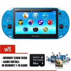 ลดราคา  Sony PSvita2000 SlimModel(PCH-2000)(Aqua Blue) พร้อมเกมเต็มเมมโมรี่64GB  ราคาเพียง  12,590 บาท  เท่านั้น คุณสมบัติ มีดังนี้ ฟรีเมม 64 gb แปลงเครื่องและลงเกมฟรีในเมม 25 เกม แปลงผ่าน cfw จึงไม่มีการแกะตัวเครื่องใดๆ ทั้งสิ้น REFURBISHED