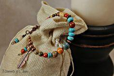 Boho Southwest Bracelet by MomentsofChaos on Etsy