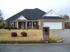 This wonderful full brick home has it all. Three bedrooms two bath dining room breakfast area and study. This home has extra concrete parking area to store a full size RV all the way around to the back patio. The oversized detached workshop is a nice extra feature. It can be extra parking or the handy persons dream. Home has thermal windows and storm door.
