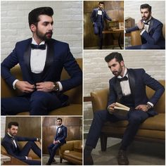 Andre Emilio Men's Winter/Spring 2017 Collection ~ Su Misura Suit Inbox us or  0300-0800744 & 0300-0800745 for pricing and designer's appointment. Address: Fashion Central, Fortune Mall, 20-A, Block C-3, MM Alam Road Gulberg III, #Lahore #andreemilio #suits #mensfashion #mensstyle #bespoke #Dresses #winter #spring #collection #Clothing