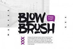 BlowBrush from FontBundles.net