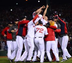 Winning at home for the first time in 95 years! #BostonStrong