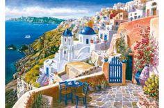 View from Santorin, Sam Park puzzle (több is tetszik de a városokból ez a legjobb) :3