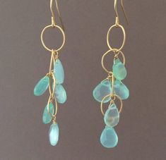 Gold Bar Earrings, Crystal Earrings, Beaded Earrings, Earrings Handmade, Handmade Jewelry, Diy Gemstone Earrings, Diamond Earrings, Gold Necklace, Pendant Necklace