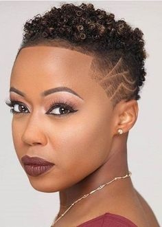 "Lopping your locks could be intimidating, however stylists say there is not any value to be abashed about aggravating a beneath 'do. ""Altering your ... Short Natural Haircuts, Cool Short Hairstyles, Braided Hairstyles, Hairstyles 2018, Wedding Hairstyles, Curly Hair Styles, Natural Hair Styles, Natural Hair Cuts, Natural Weave"