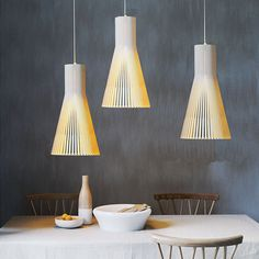 Rattan Pendant Lights Wooden Cage Cone Lamps Contemporary Sector Cafe Chandelier