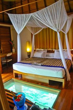 Bora Bora - romantic interior