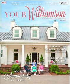 Huge Thank You! To YOUR Williamson Magazine for choosing the Nashville Symphony Show House as the backdrop for their May cover. Pick up the May issue to read about the 'Matriarchs of Williamson County' and to catch a glimpse of the #NashSymphonyHouse. #follow #picoftheday #MothersDay #MusicCity #Architecture #Summer #HomeTour #instagood